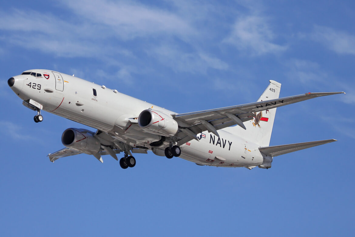 U.S. Navy sends P-8A Poseidons to the Persian Gulf