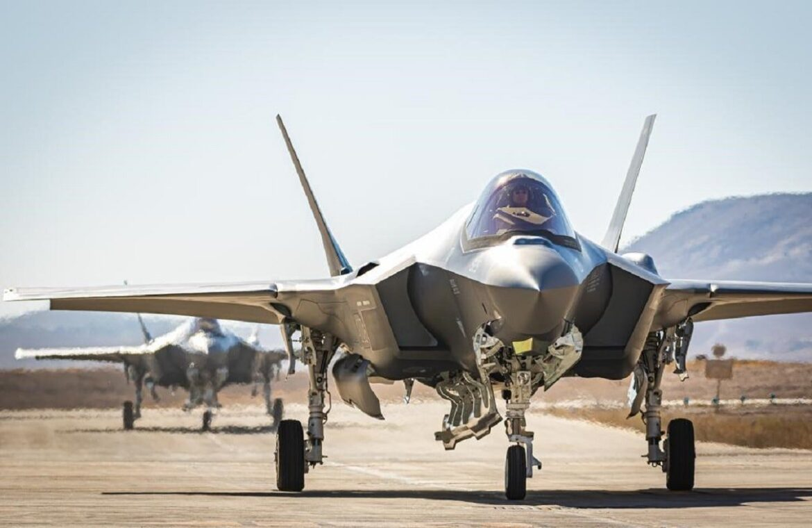 ISRAELI F35s Flying above Cyprus – Joint Exercise with National Guard