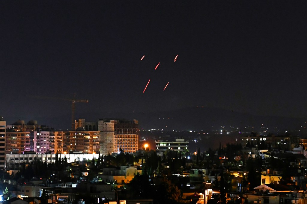 SANA: Israel struck Iranian & Syrian positions near Damascus