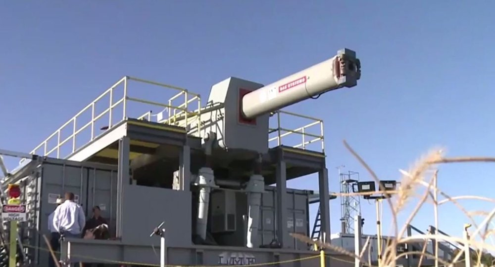 US NAVY TO TEST ELECTROMAGNETIC RAILGUN IN DECEMBER