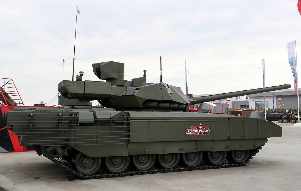 RUSSIA TO START PRODUCTION OF T14 ARMATA IN 2021
