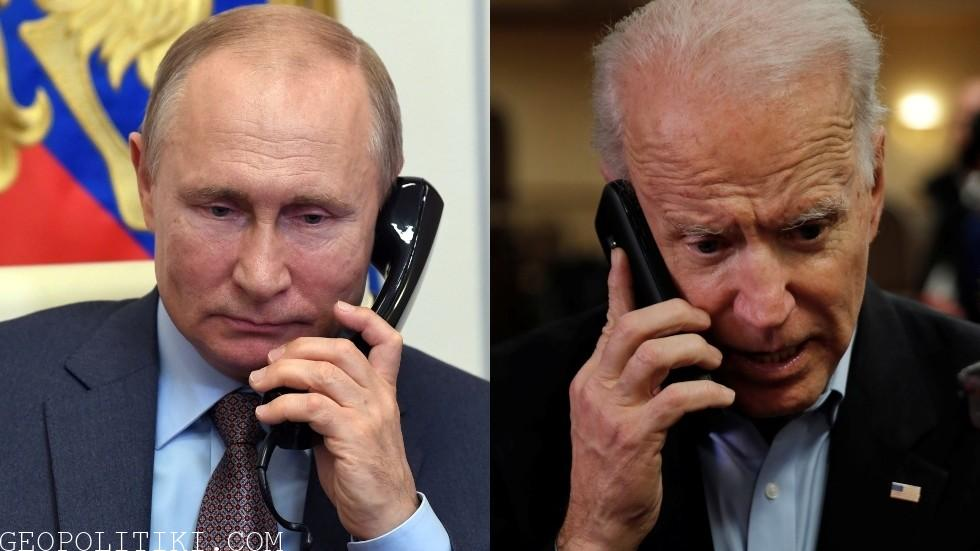 Putin tells Biden in first phone talks that normalization of Russian-US relations would benefit everyone