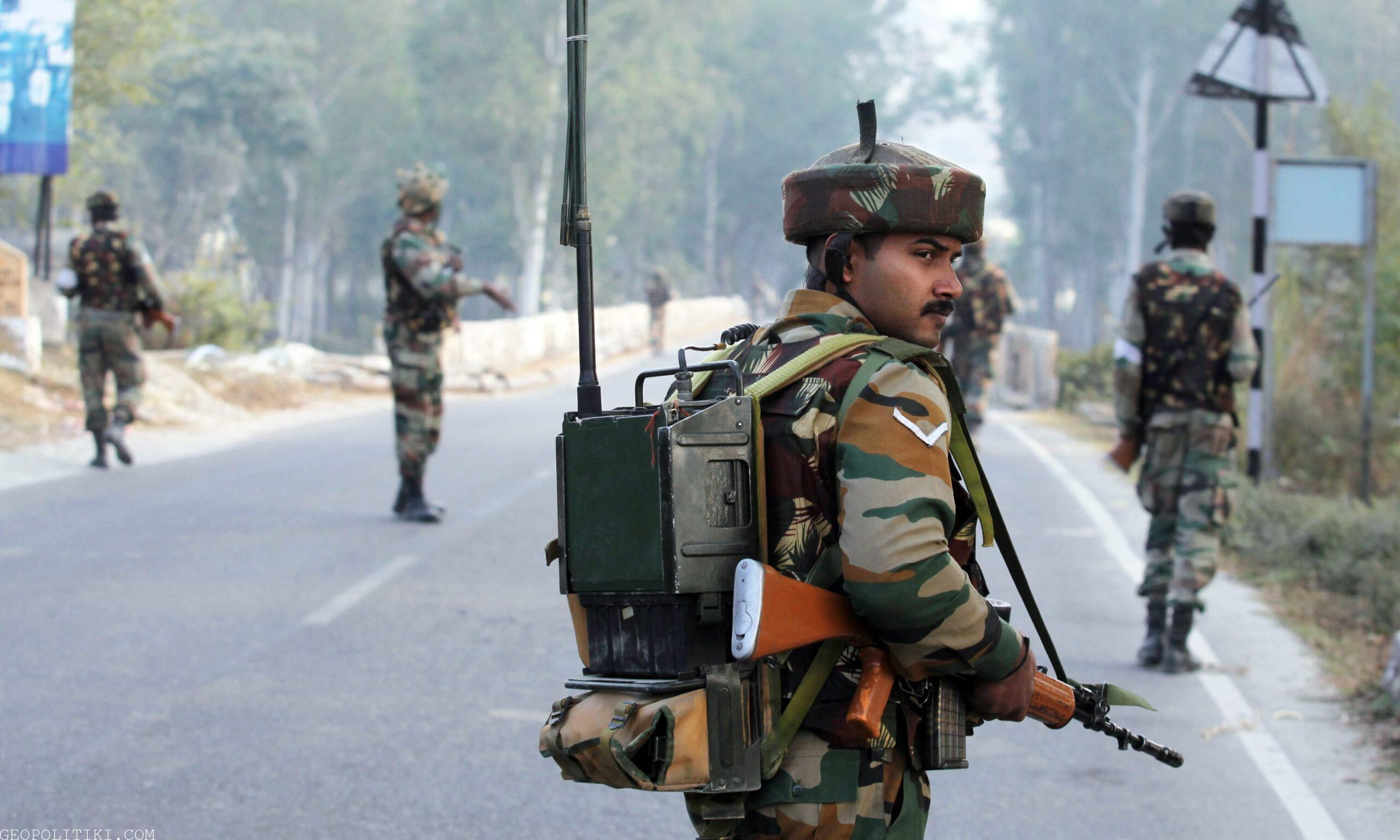 Border skrimish between India & Pakistan – India records one casualty