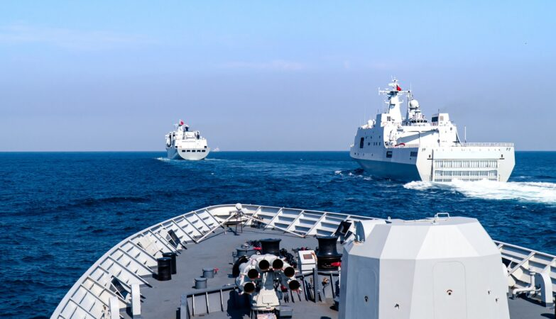 China & Singapore begin Joint naval exercises in South China Sea