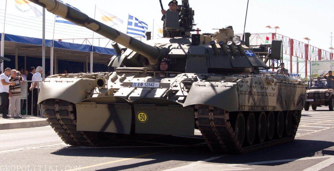 The Cypriot National Guard is battle-ready – Armored units training