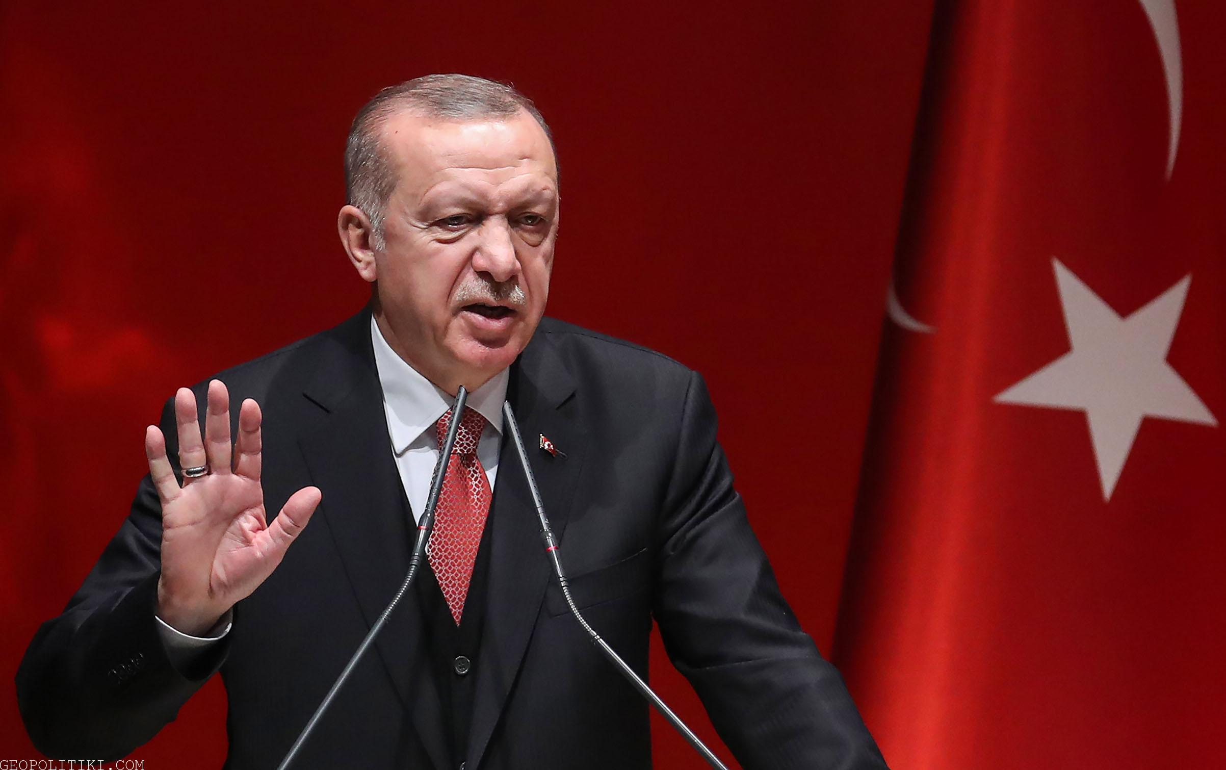 ERDOGAN AGAINST THE U.S. – Accusing the United States of supplying weapons to PKK