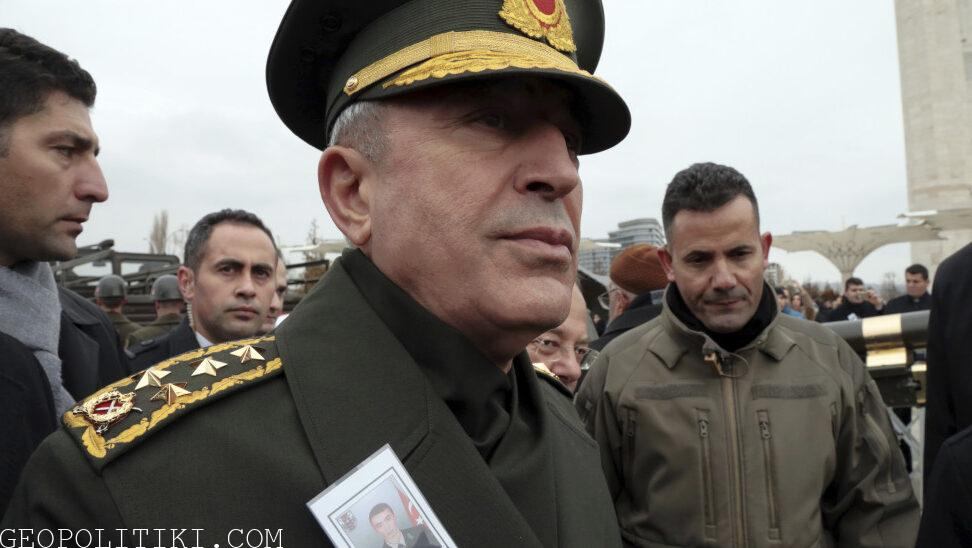 """GREECE THREATENS PEACE"" Turkish MoD anxious for Greece's armament program"