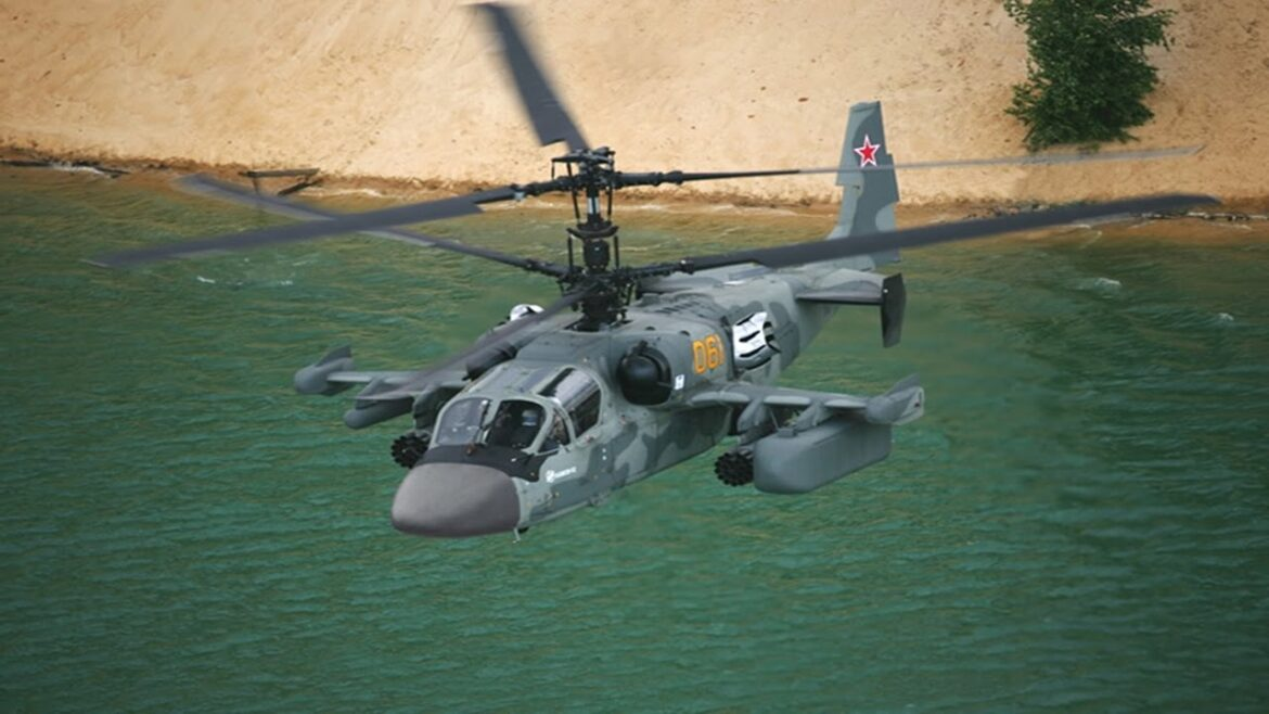 BREAKING: Russian Helicopter violated Ukraine's airspace