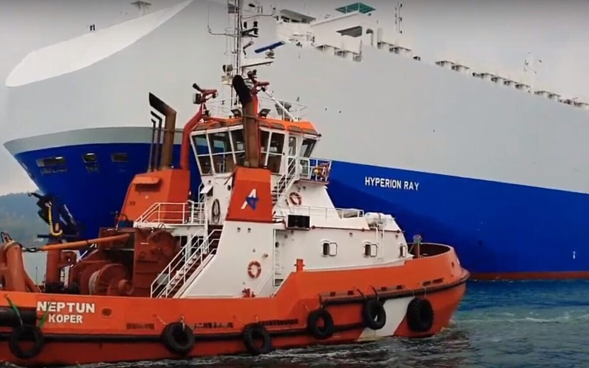 Israeli cargo ship attacked by Iran