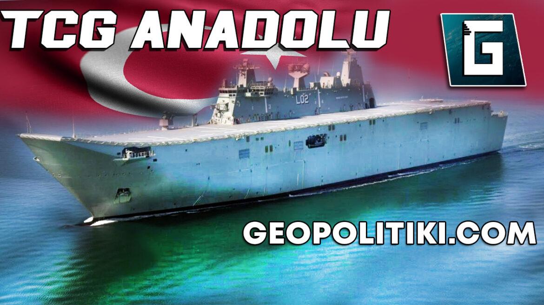 TCG ANADOLU: Erdogan's Aircraft carrier with no planes