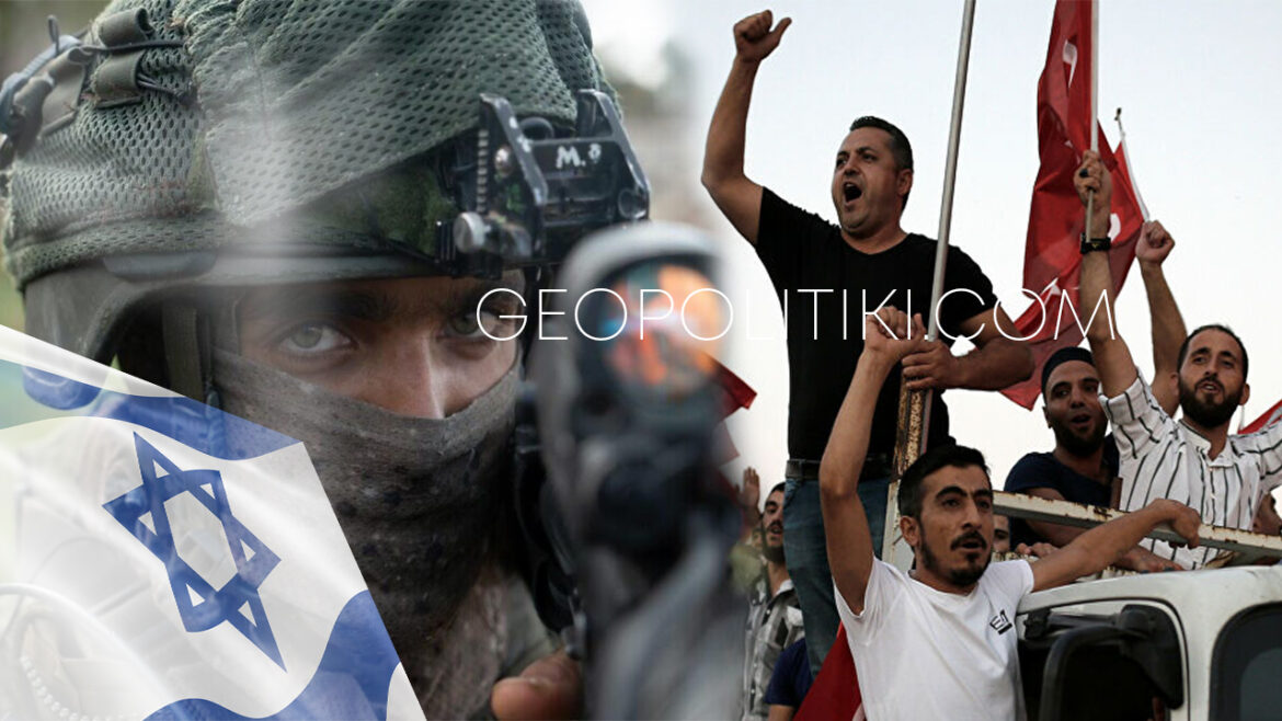 """Turks calling for war against Israel """"Send the Turkish soldiers"""""""