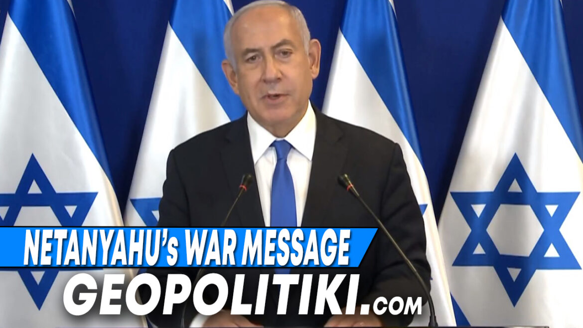 """We will destroy Hamas"" Netanyahu's war message paves the way"