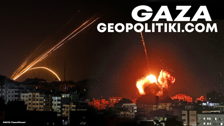 NOW: Rocket Barrage from Gaza against Israel | IDF Strike back