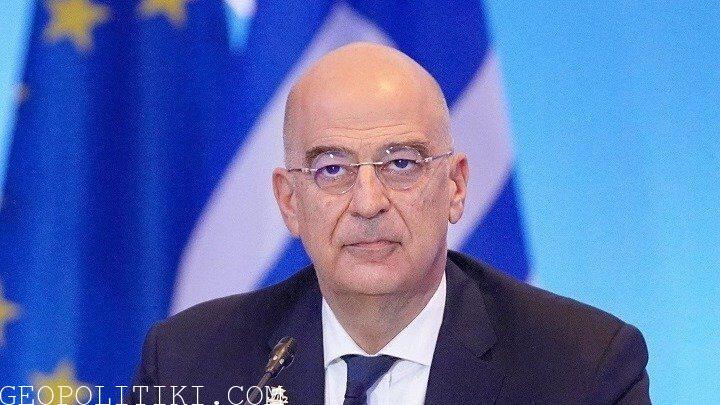 NOW: Greek Foreign Minister Dendias visit Israel, Palestine, Egypt & Jordan