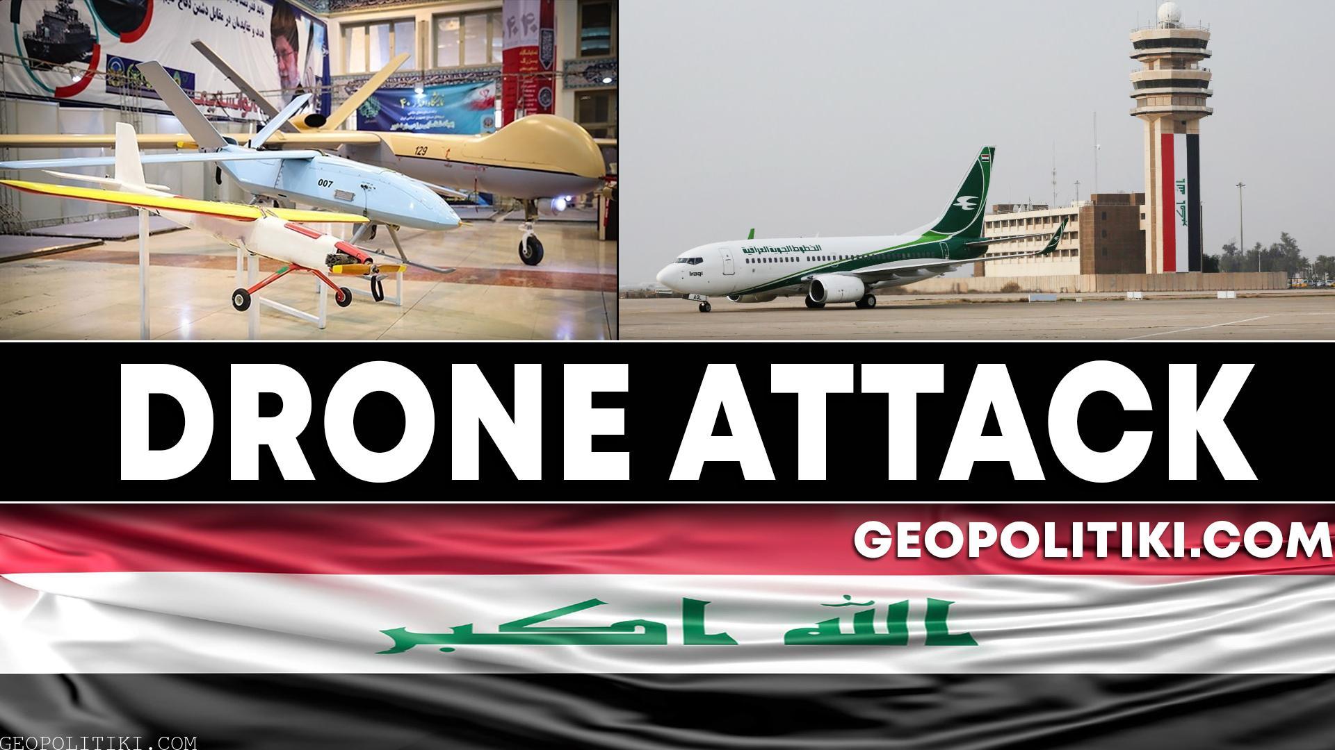 URGENT: UAV attack against military facilities in Iraq