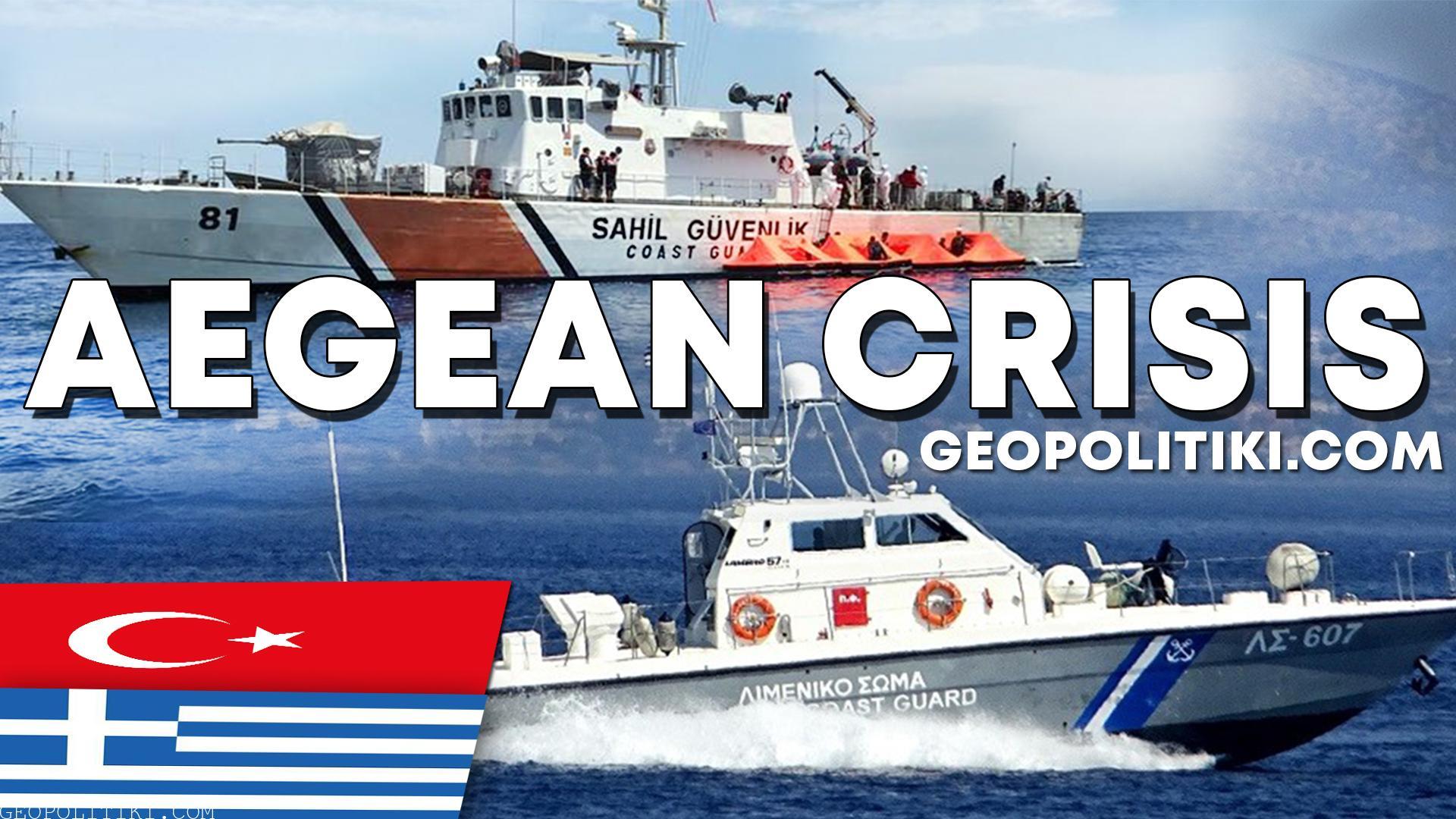 AEGEAN CRISIS: Turkish coast guard harassed Greek Patrol boat