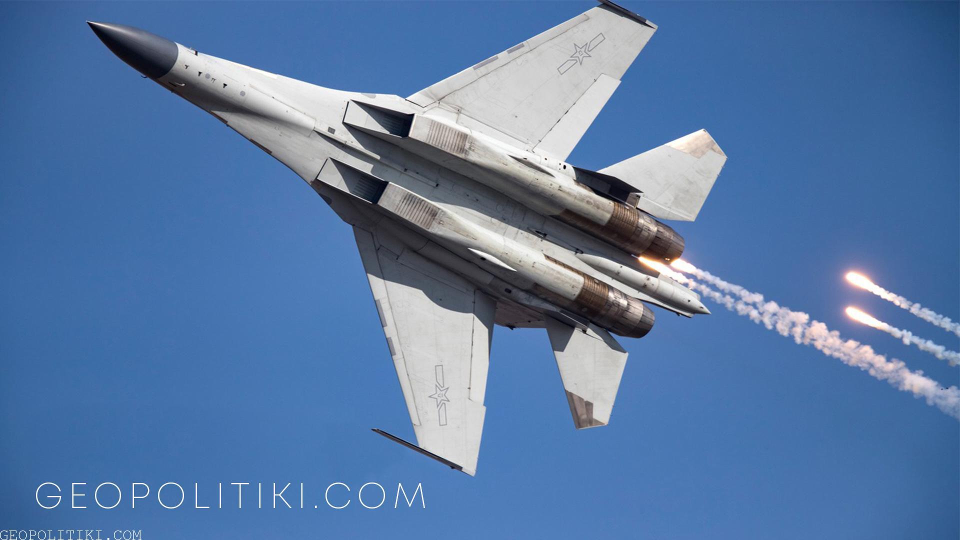 DOZENS of Chinese fighter jets violate Taiwan's ADIZ